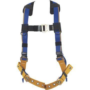 Werner Blue Armor 1-Ring Standard Safety Harness - Blue, Medium/Large, Model H112002
