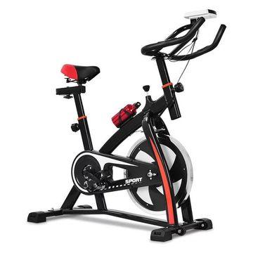 Costway Exercise Bicycle Indoor Bike Cardio Adjustable Gym Workout Fit