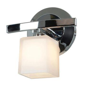 Access Lighting Sydney 1-Light Chrome Transitional Vanity Light | 63811-18-CH/OPL