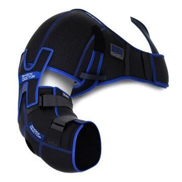 Shock Doctor 755 Ice Recovery Shoulder Elbow Compression, Adult L/XL, BLACK