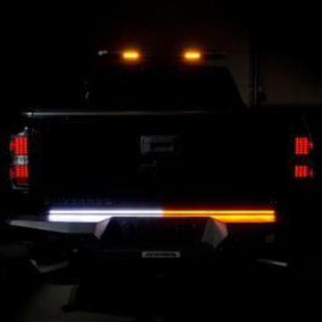 Putco 9300918 18 in. Work Blade LED Light Bar, Amber & White