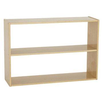 Birch Streamline 2-Shelf Storage Cabinet without Back, 24