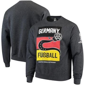 Germany National Team Country Fusball Crew Neck Sweatshirt - Heathered Gray