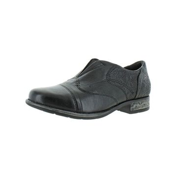 Earth Womens Blythe Loafers Leather Relief Pod