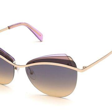 Emilio Pucci EP0112 28B Womenas Sunglasses Gold Size 59