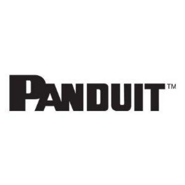 Panduit NetRunner - Rack cable management panel (vertical) - black - 4