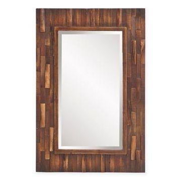 Howard Elliott 36-Inch x 24-Inch Forrest Rectangular Mirror