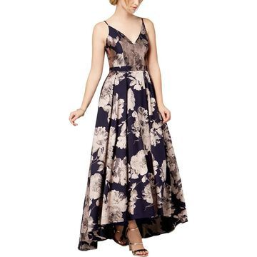 Xscape Womens Formal Dress Floral Hi-Low