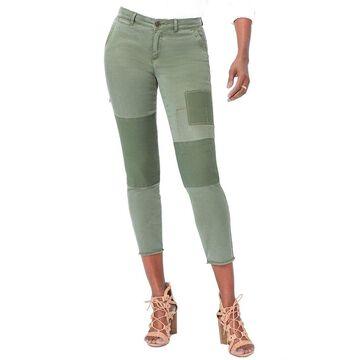 Nydj Womens Skinny Olive Chino