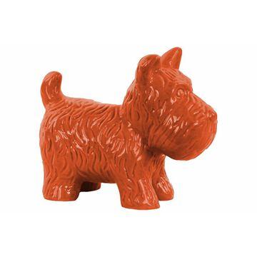 Standing Welsh Terrier Dog Figurine - Orange - Benzara
