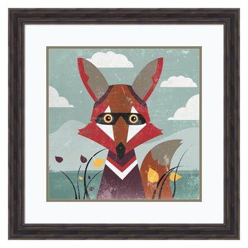 Amanti Art Fox Framed Wall Art