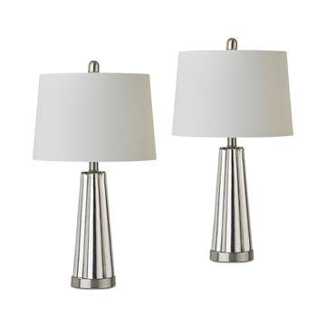 JLA Set of 2 Spirit Table Lamps