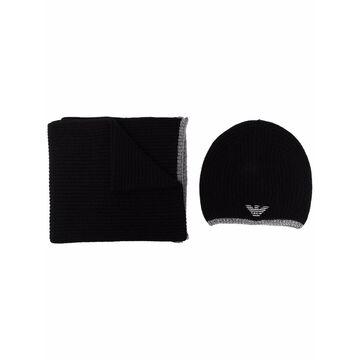 Emporio Armani Hats Black