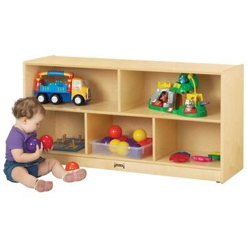 Jonti-Craft Toddler Single Storage Bookcase
