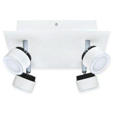 Eglo Armento 4-Light LED Track Light in White/Black