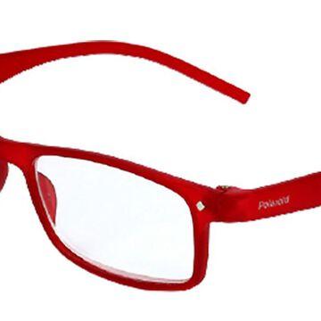 Polaroid PLD 0017/R/CH 0Z3 Men's Glasses Red Size 53 - Free Lenses - HSA/FSA Insurance - Blue Light Block Available