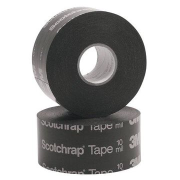 3M Electrical Scotchrap All-Weather Corrosion Protection Tapes 50, 100 ft X 2in, 10 mil, Black