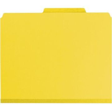 Smead Press Guard Classification Folders with SafeSHIELD Coated Fastener Technology