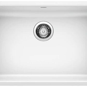 BLANCO Precis Undermount 25-in x 18-in White Single Bowl Kitchen Sink   442542