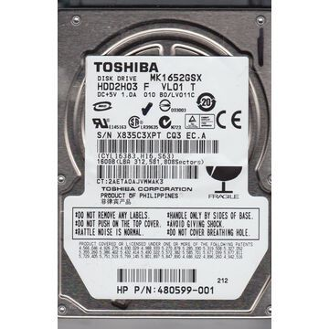 Toshiba MK1652GSX Hard Drive