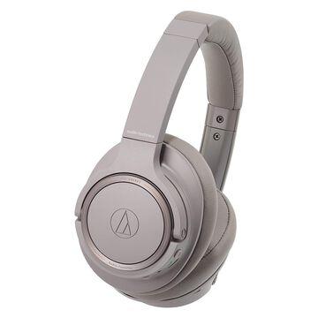 Audio Technica Audio-Technica ATH-SR50BT Bluetooth Wireless Over-Ear Headphones (Brown-Gray) in Black