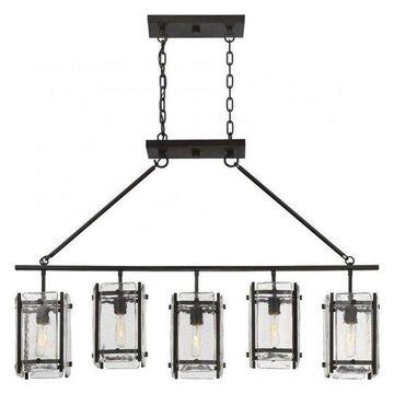 Pemberly Row 5 Light Trestle in English Bronze