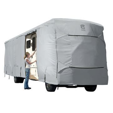 Classic Accessories PermaPro Heavy Duty RV Cover, Extra Tall Class A, 37'-40'