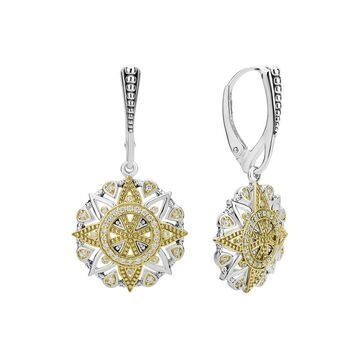 Lagos Wanderlust 18K & Silver 0.35 Ct. Tw. Diamond Earrings