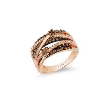 Le Vian Chocolatier Diamond & 14K Rose Gold Multi-Band Ring