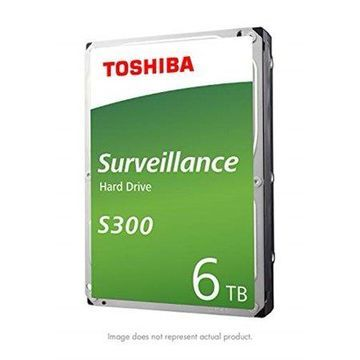 Toshiba S300 Surveillance Internal Hard drive, 6TB HDWT360UZSVAR