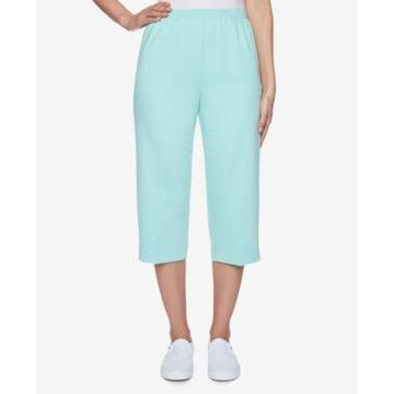 Alfred Dunner French Terry Capri Pants