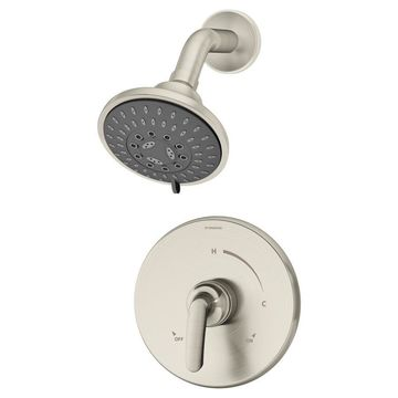 Symmons Elm Satin Nickel 1-Handle Shower Faucet Stainless Steel