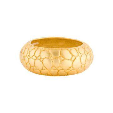 Pebble Bangle Gold
