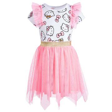 Little Girls Handkerchief-Hem Dress, Created for Macy's