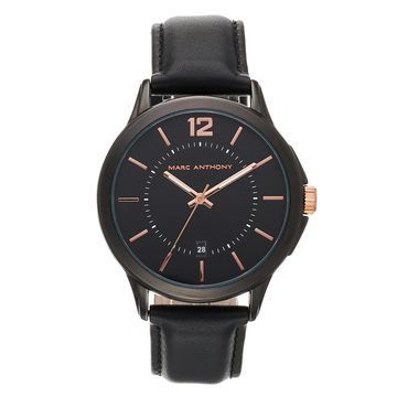 Marc Anthony Men's Leather Watch - FMDMA200
