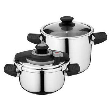 BergHOFF Vita 4-Piece Pressure Cooker Set