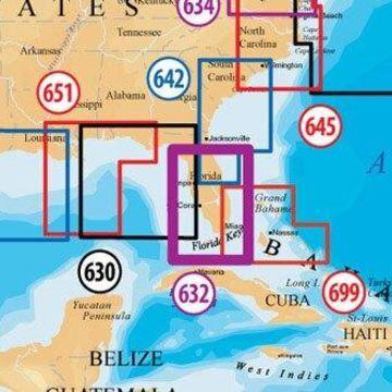 Navionics MSD/632PP Platinum Plus South & Central Florida Marine Chart(Lowrance)