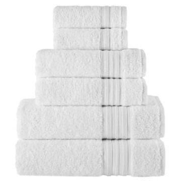 Laural Home 100% Turkish Cotton 6-Piece Towel Set