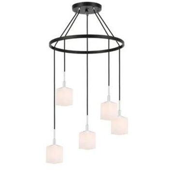Woodbridge Lighting 18428-C80401 Langston 5-light Pendant Chandelier