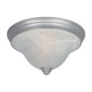 Designers Fountain Montague 2-Light Flushmount, Matte Pewter