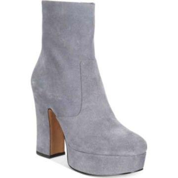 Avec Les Filles Womens Lianna Closed Toe Ankle Fashion Boots