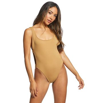 L-Space Ridin' High Ribbed Mayra One Piece Swimsuit