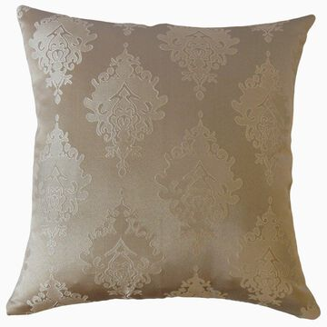 The Pillow Collection Harding Damask Decorative Throw Pillow