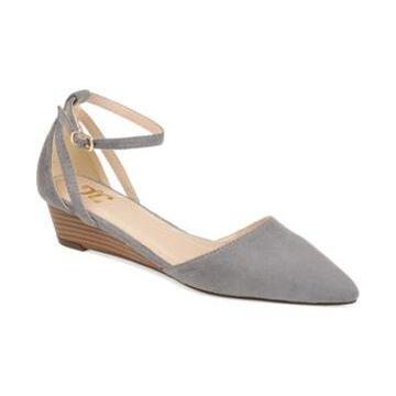 Journee Collection Women's Arkie Sliver Wedges Women's Shoes