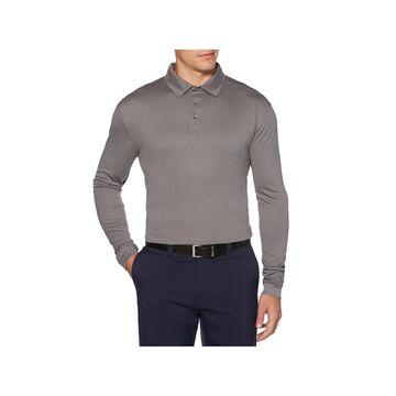 PGA TOUR Mens Collar Neck Long Sleeve Polo Shirt