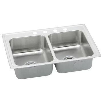 Elkay LRAD2918554 Double Bowl Lusterstone Sink