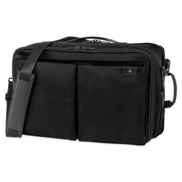 Victorinox Lexicon Expandable Overnight Laptop Bag in Black
