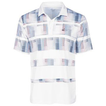 Men's Stanton Pixel Stripe Performance Polo, Created for Macy's