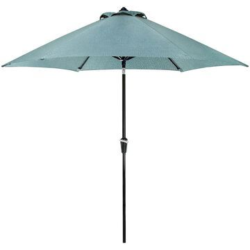 Hanover Lavallette Blue 9 Ft. Table Umbrella