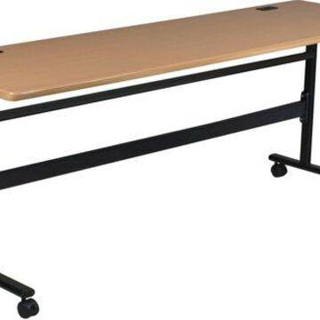 ''Brand New Balt Economy Flipper Training Table, 72-Inch, Teak''
